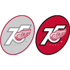 Detroit Red Wings Logo http://www.brandprofiles.com/detroit-red-wings-anniversary-logo-6