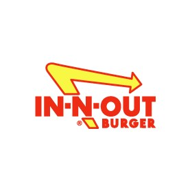 In N Out Burger Graphic Design