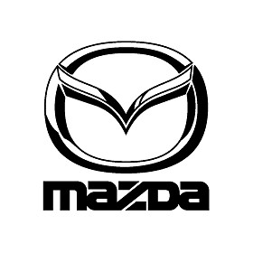 Collectionmdwn Mazda Logo Black