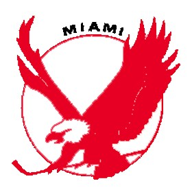 Miami Screaming Eagles Primary Logo