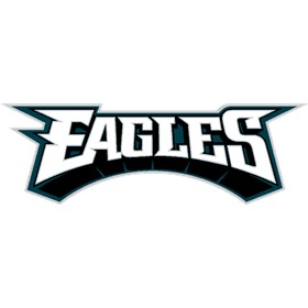 eagles script logo choose logo format please select a logo format logo ...